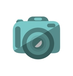 Photographic camera device isolated icon vector