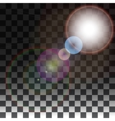 special effects on a transparent background vector image