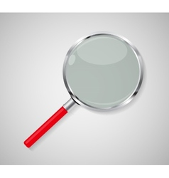 Magnifying Glass Search Icon vector image vector image