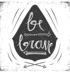 hand drawn typography poster stylish typographic vector image vector image