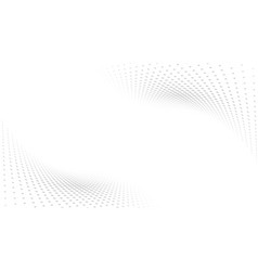 abstract white and gray gradient perspective vector image