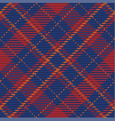 Check plaid seamless fabric texture diagonal print vector