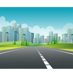 City Scene vector