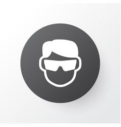 Eyeglasses icon symbol premium quality isolated vector