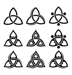 trinity logo vector image