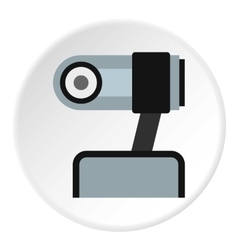 Webcam icon flat style vector image