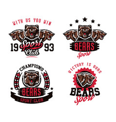 A collection of designs for printing on t-shirts vector