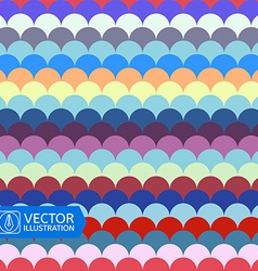 Abstract Colorful Wave Seamless Pattern vector image vector image
