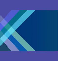 abstract dark blue background with color strips vector image