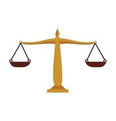 Balance money equality isolated vector