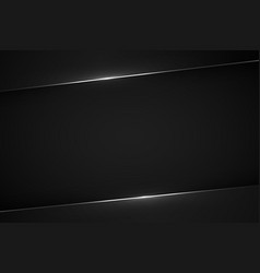 Black modern background vector