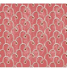 Classical seamless pattern over grungy background vector