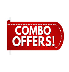 combo offers banner design vector image