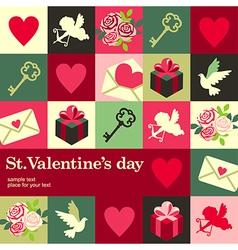 concept Valentine vector image