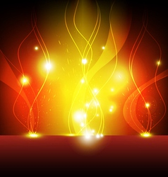 Flame eruption background vector