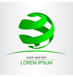 Logo sphera 016 vector image