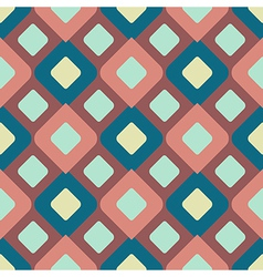 Modern abstract symmetric cube seamless pattern vector
