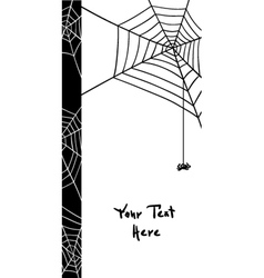 Spiders web elements vector