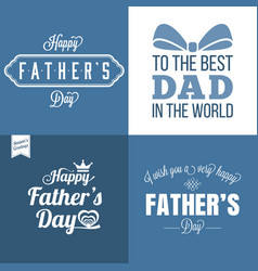 happy father day vector image vector image