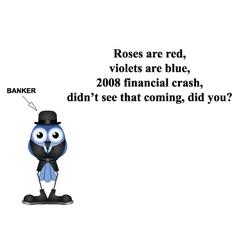2008 financial crash poem vector