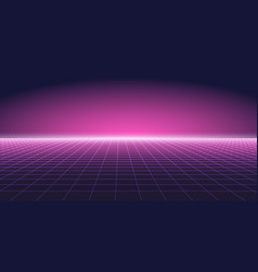 abstract purple background with perspective vector image