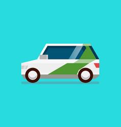 electric car ev car vector image