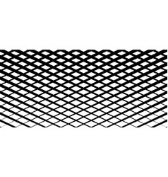Irregular grid mesh pattern abstract monochrome vector