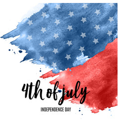 July 4 independence day in usa background can vector
