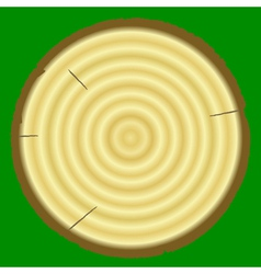 stump vector image