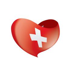 switzerland flag vector image