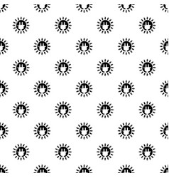 unplugged electrical plug pattern seamless vector image