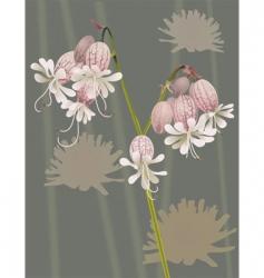 Wild flower vector