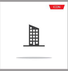 buildings icon city symbols vector image vector image