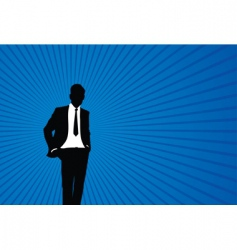 person background vector image vector image