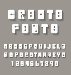 Creative alphabets vector