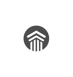 Pillar logo vector