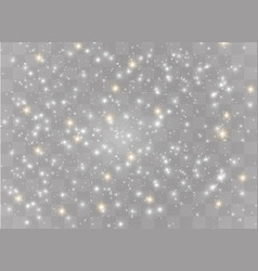 Sparkling magical dust vector