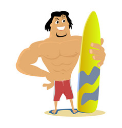 surfing water extreme sports isolated design vector image