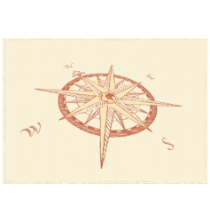 compass windrose vector image vector image