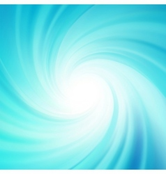 Blue rotation water EPS 8 vector image vector image