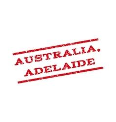Australia adelaide watermark stamp vector