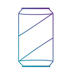 beverage can isolated icon vector image