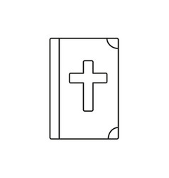 Bible icon vector