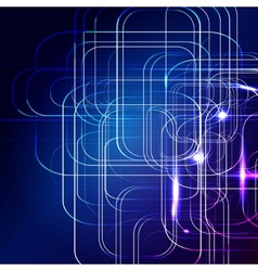 Blue abstract background digital technologies vector