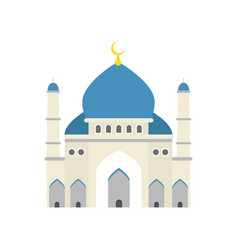 islamic mosque traditional religious architecture vector image