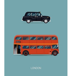 London Public Transport Icon Set vector