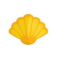 Nice shell icon flat style vector