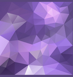 Polygonal square background ultra violet purple vector