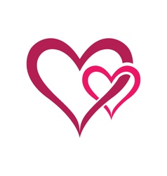 Love community care logo vector