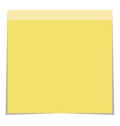 note post on white background note post sign vector image